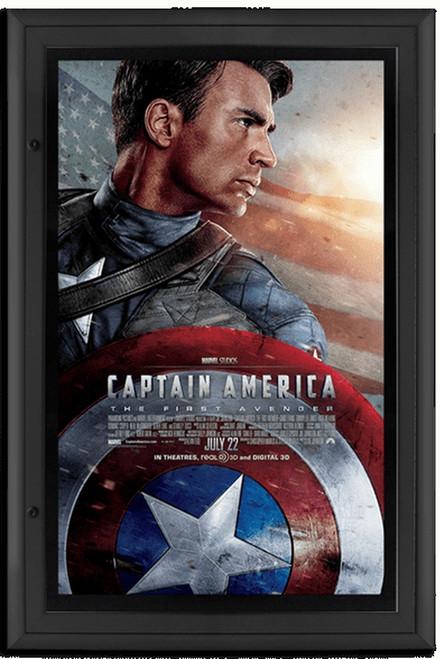 Contour Series Backlit Lockable Movie Poster Case