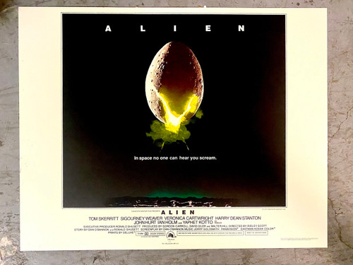 Alien 1979 Half Sheet Movie Poster Lithograph by S2 Art