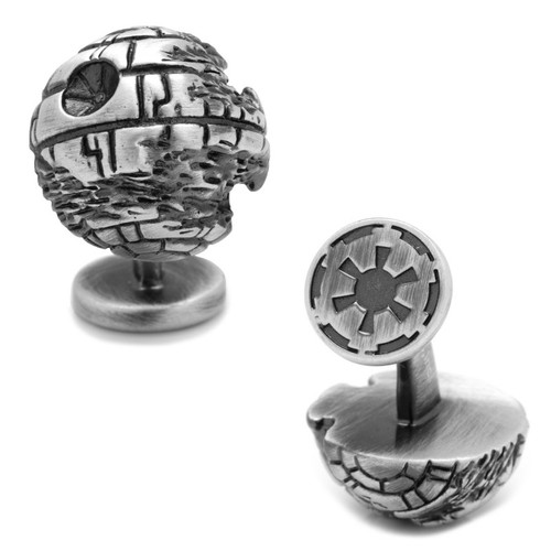 3D Death Star II Cufflnks