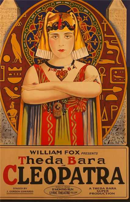 Cleopatra 1917 Fine Art Movie Poster Lithograph