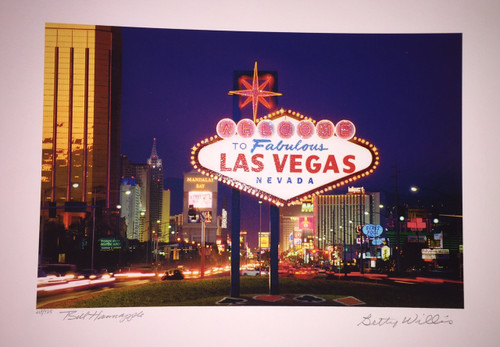Betty Willis Welcome to Fabulous Las Vegas Nevada by S2 Art
