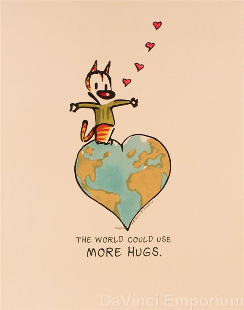 The World Could Use More Hugs by Patrick McDonnell