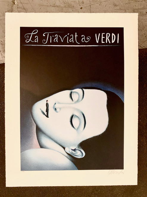 La Traviata Verdi by Rafal Olbinski 314/350