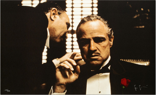The Whisper from The Godfather by Steve Schapiro