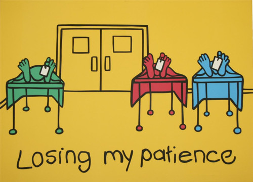 Losing My Patience by Ileana  Grimm