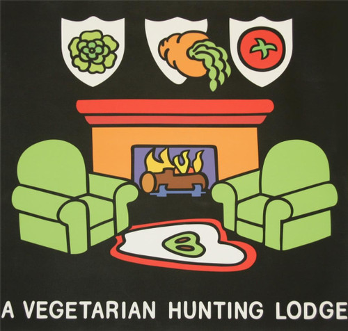 A Vegetarian Hunting Lodge by Ileana Grimm