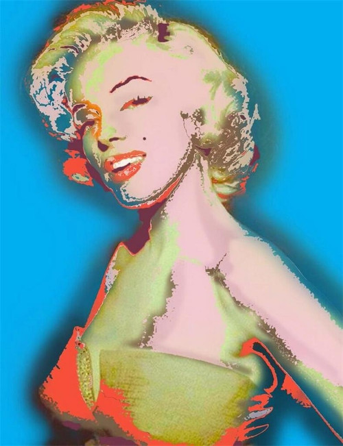 Marilyn Monroe I Just Want to Be Wonderful Limited Edition Giclee