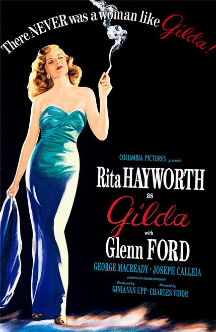 Gilda 1946 Movie Poster Lithograph