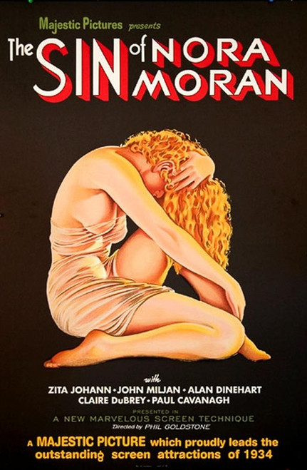 The Sin of Nora Moran 1933 Movie Poster Lithograph