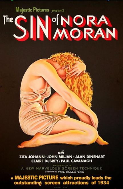 The Sin of Nora Moran 1933 Movie Poster Fine Art Lithograph