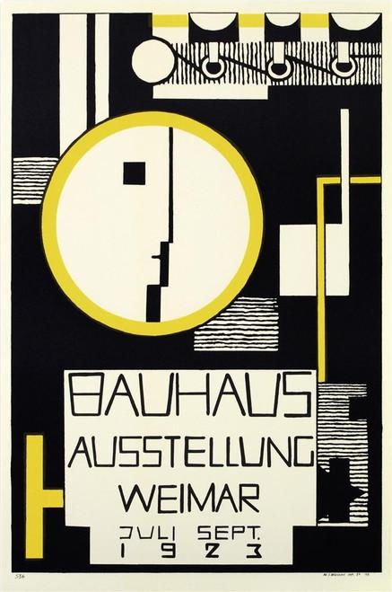 Bauhaus Variation Lithograph