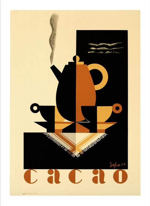 Cacao Lithograph