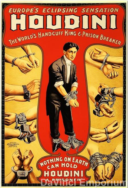 Houdini Lithograph