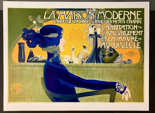 La Maison Moderne Fine Art Lithograph
