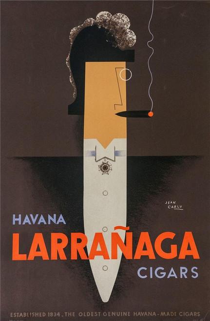 Larranaga Havana Cigars Poster Fine Lithograph