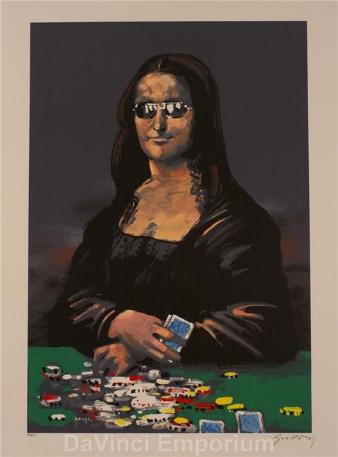 Poker Face by Waldemar Swierzy