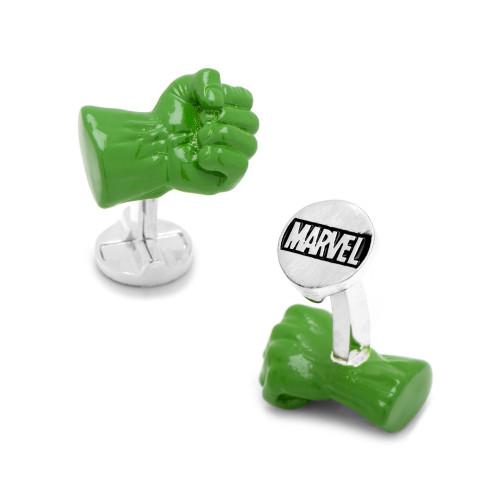 3D Hulk Fist Cufflinks