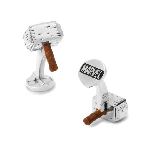 3D Thor's Hammer Cufflinks