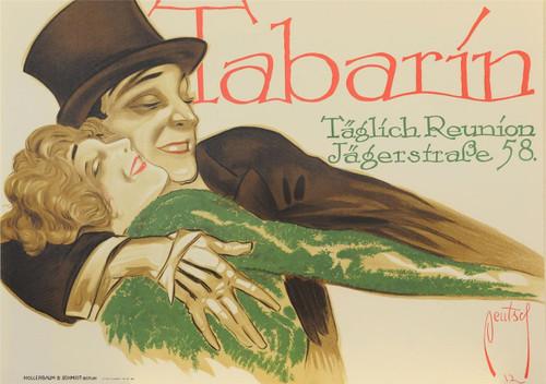 Tabarin Poster Fine Art Lithograph