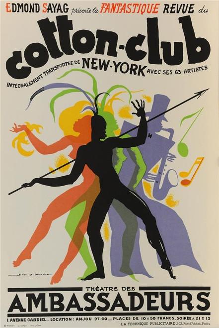 Cotton Club Poster Fine Art Lithograph