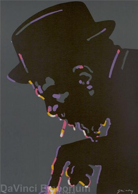 Thelonious Monk by Waldemar Swierzy