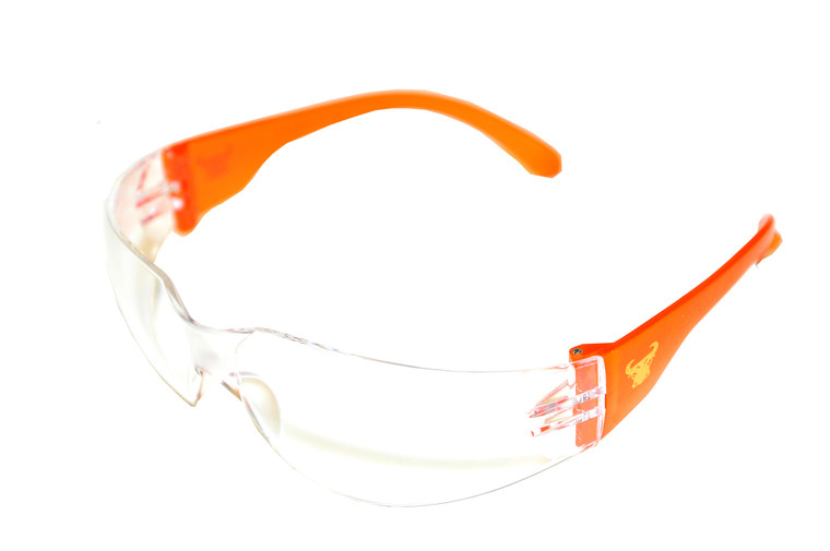 13016 EyePRO Safety Goggles with 99% Protection Against UV-A, B & C Rays, Impact, Ballistic Resistant & Clear Lenses (12 Pack)