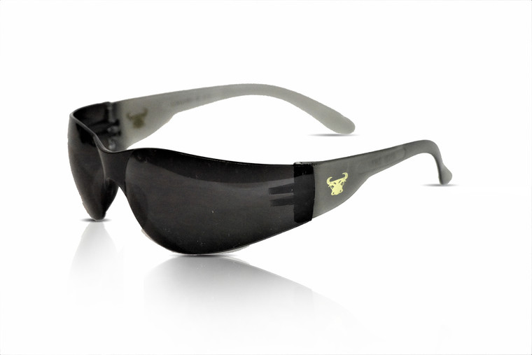 13017 EyePRO 12 pack Safety Glasses, safety goggles, Scratch, Impact, and Ballistic Resistant, smoke lens, 12 Pack