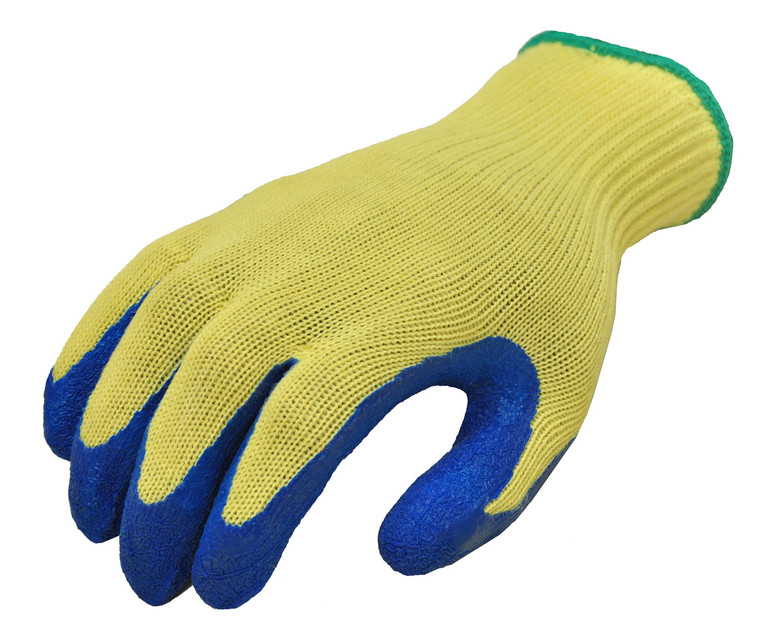 1607 Latex Coated Cut Resistant Work Gloves, Sold by each- 1 Pair