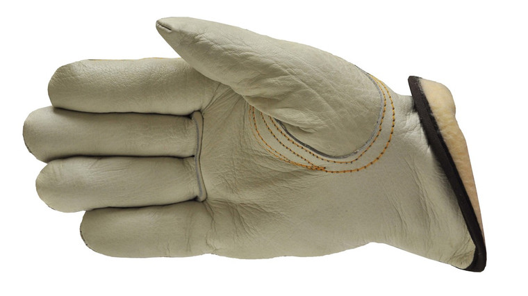 6202 Grain Cowhide Work Gloves w/ Thinsulate Lining, Sold by each- 3 Pairs