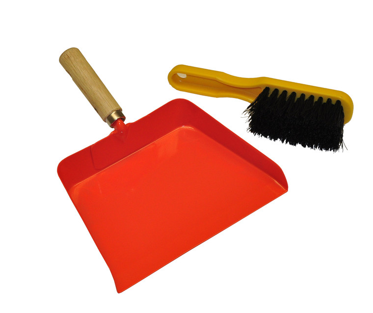 JustForKids Kids 10039 Dustpan and Brush Set. Sold by each- 2 set