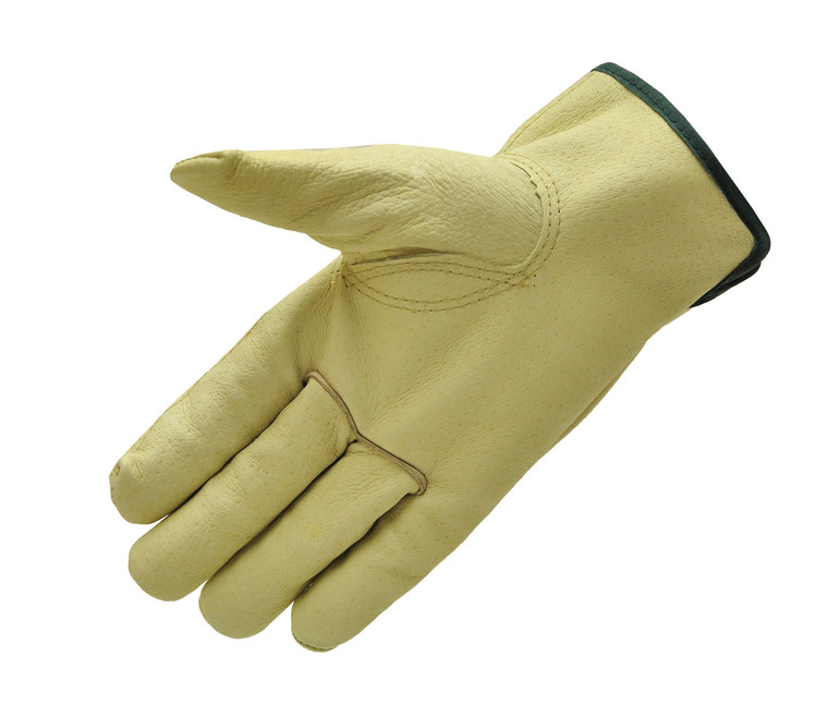2002-3 Pigskin Leather Work Gloves. Sold by each- 3 Pairs