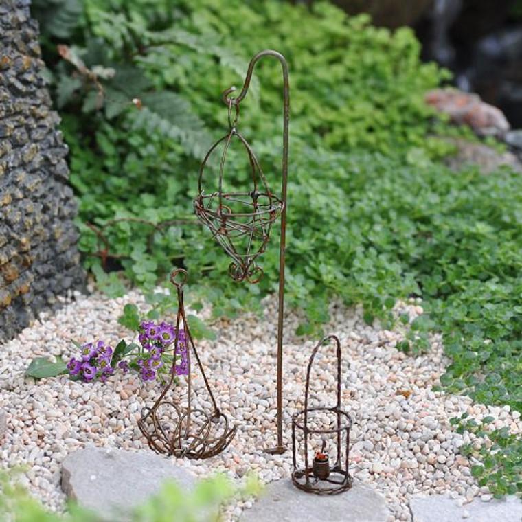 MiniGardenn 10026 Fairy Garden Miniature Wire Accessory Set