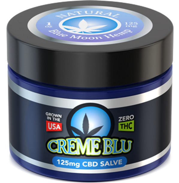 CBD Salve 1oz Natural by Blue Moon Hemp