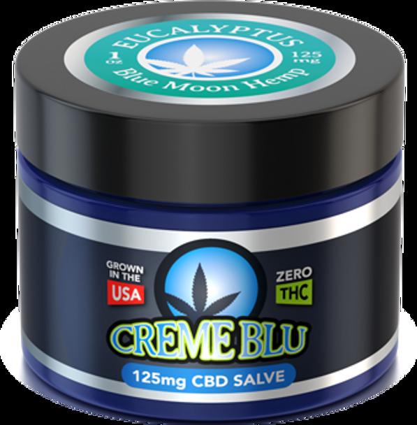 CBD Salve 1oz Eucalyptus by Blue Moon Hemp