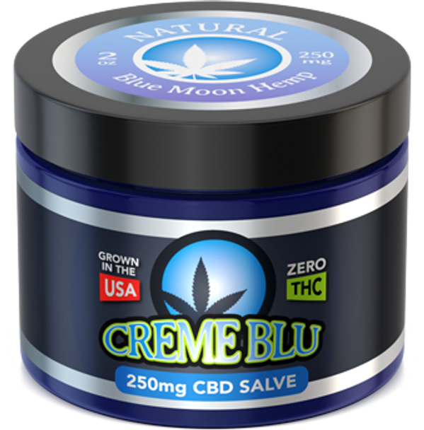 CBD Salve 2oz Natural by Blue Moon Hemp