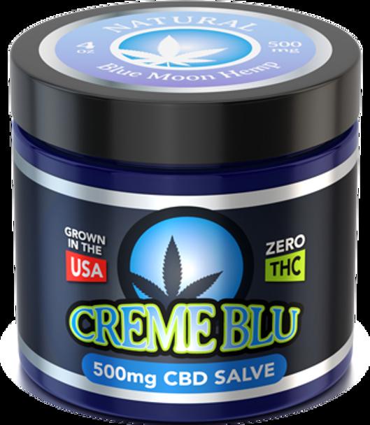 CBD Salve 4oz Natural by Blue Moon Hemp