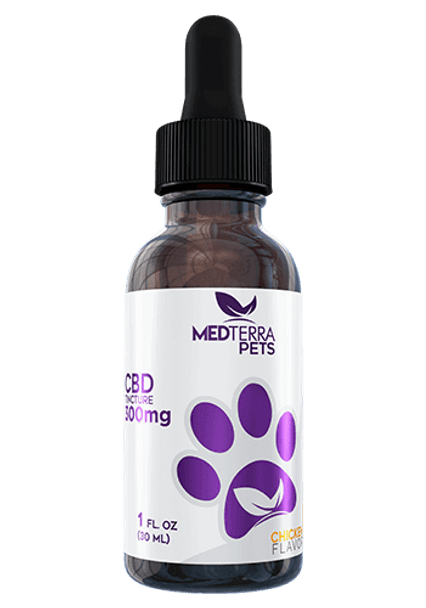 Chicken - CBD Tincture for Pets by Medterra