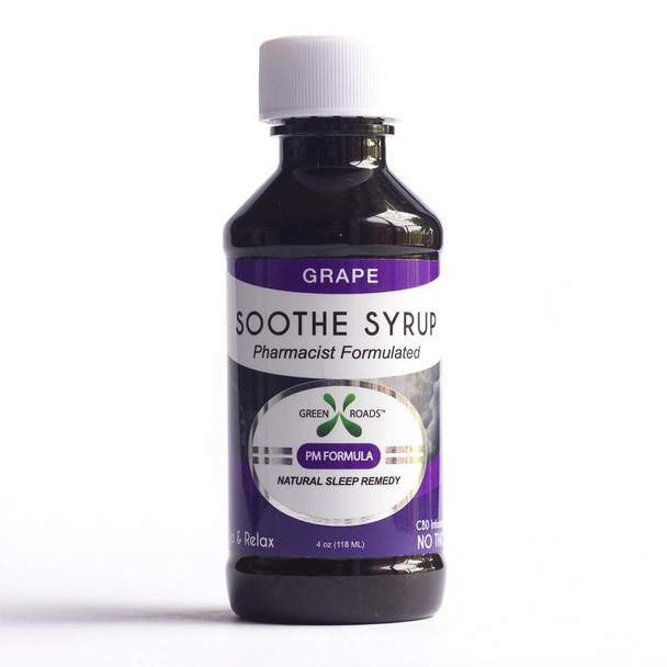 CBD Grape Soothe Syrup – 60mg by Green Roads