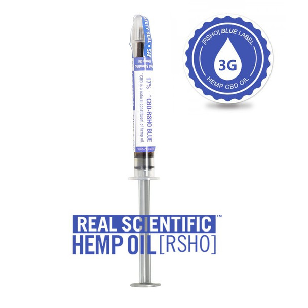 Blue Label Oral Applicator - 510mg by RSHO