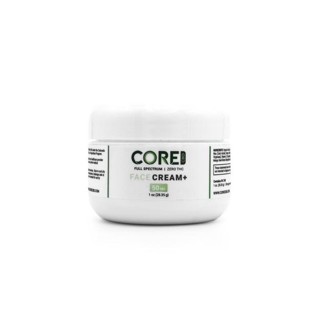 Face Cream – CBD Topical - 50mg by Core CBD