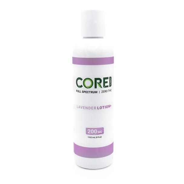 Lavender Body Lotion – CBD Topical - 200mg by Core CBD