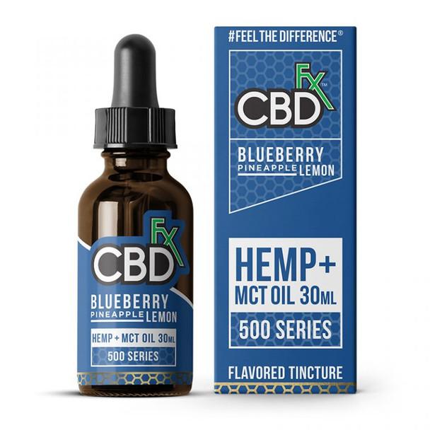Blueberry Pineapple Lemon CBD Tincture Oil by CBDfx