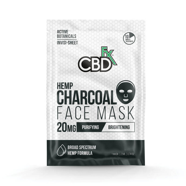 CBD Charcoal Face Mask – 20mg by CBDfx