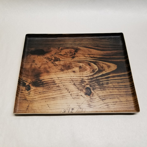 Front of tray