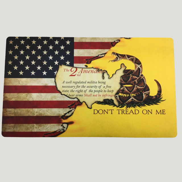 Patriotic Gun Cleaning/Counter  Mats