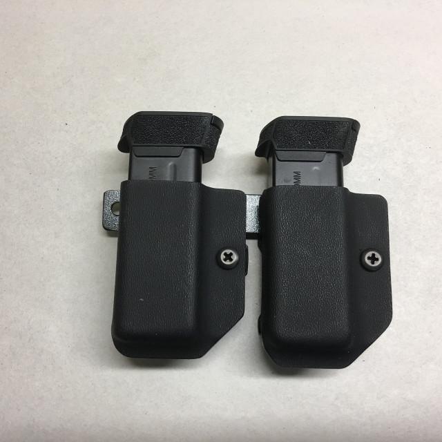 Dual Ambi Belt Clip Magazine Carrier
