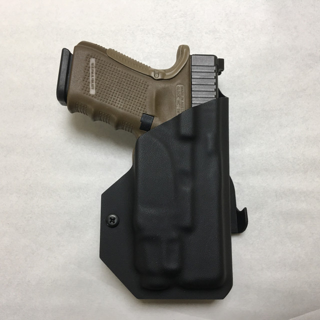 Light Bearing Paddle Holster