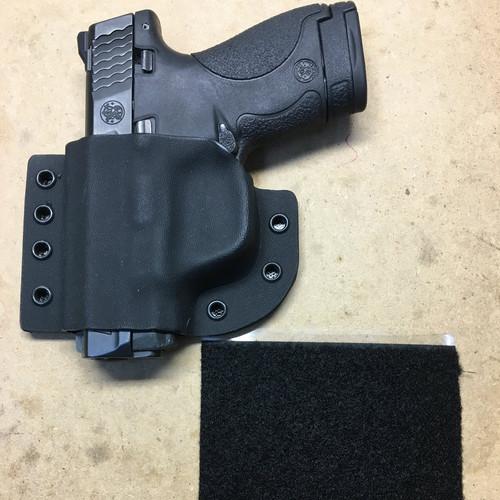 Black Police Raptor Kydex Holster for Glock 34 35  TLR-1 HL /& Dual Mag Carrier