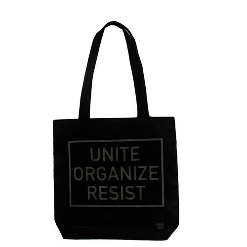 SOLD OUT - UNITE ORGANIZE RESIST Tote Bag by Kayrock for Visual AIDS