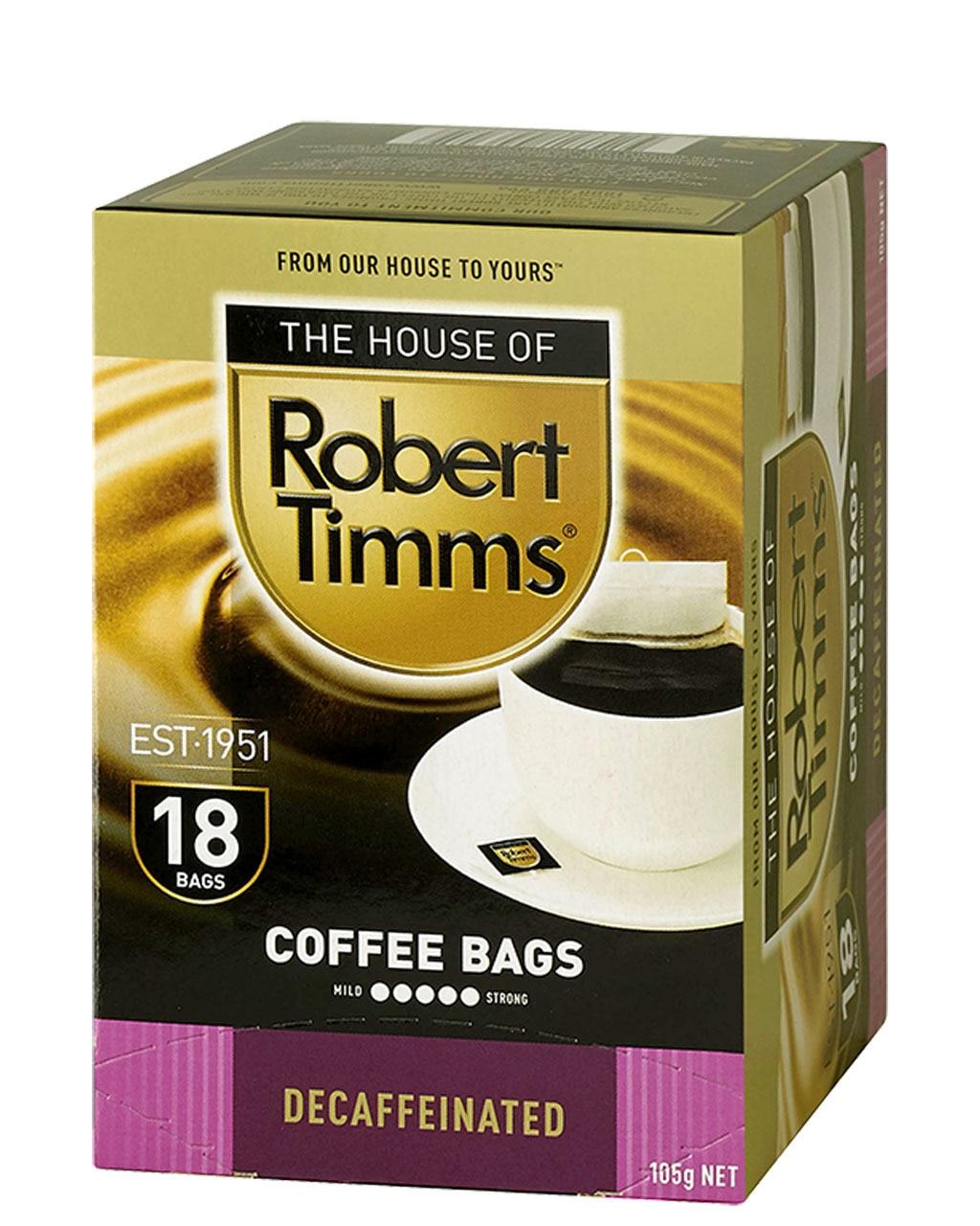Decaffeinated Coffee Bags
